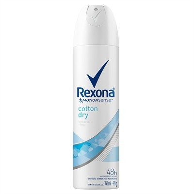Desodorante Antitranspirante Aerosol Rexona Cotton dry