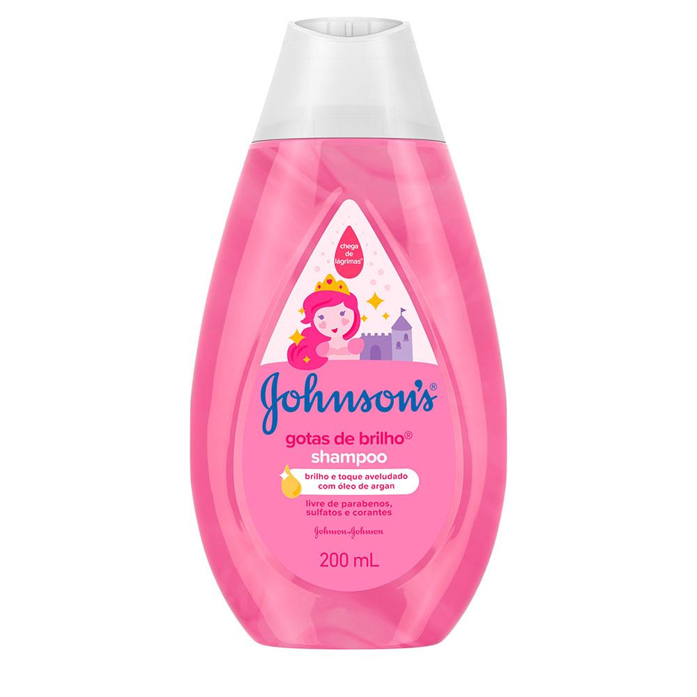 Shampoo Johnson's Baby Gotas De Brilho