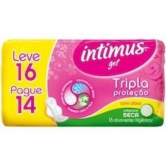 Absorvente Intimus - Seca C/Abas 16 Un.