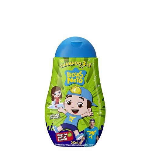 Shampoo 3 x 1 Luccas Neto