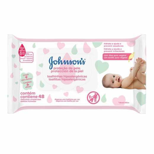 Lenços Umedecidos Johnson's Baby
