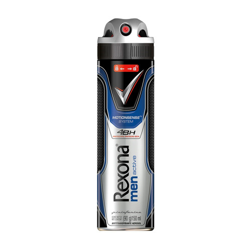 Desodorante Aerosol Antitranspirante Rexona Men Active Dry