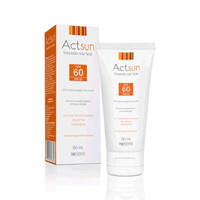 Protetor Solar Facial Actsun FPS60