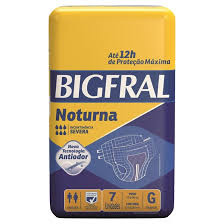 Fralda Geriátrica Bigfral