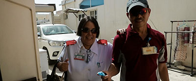May Forever Ba Abroad? -  Dariel & Adelfa from HMC, Qatar