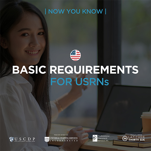 Now You Know | Basic Requirements for USRNs