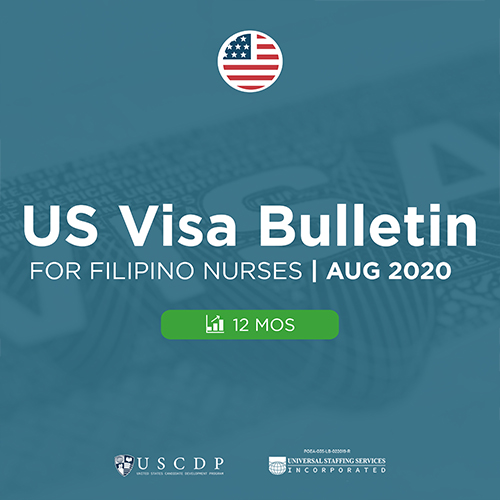 Monthly US Visa Bulletin For PH Nurses | August 2020