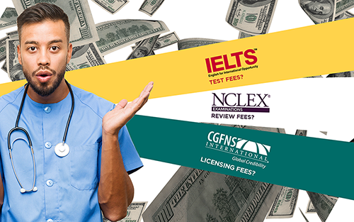The Complete Solution to Your NCLEX, IELTS & Licensing Costs