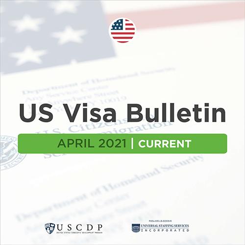Monthly US Visa Bulletin For PH Nurses | April 2021