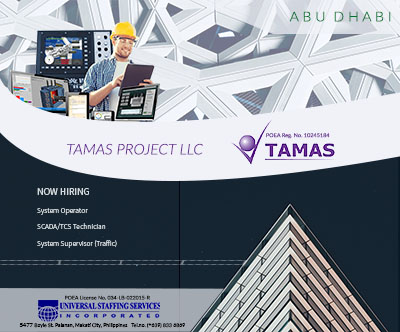 Tamas Project LLC's 2018 Manpower Requirements and Future Projects