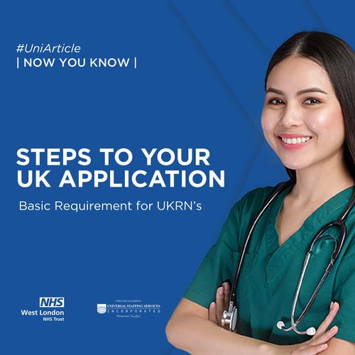 UKRN: Steps to Your UK Application