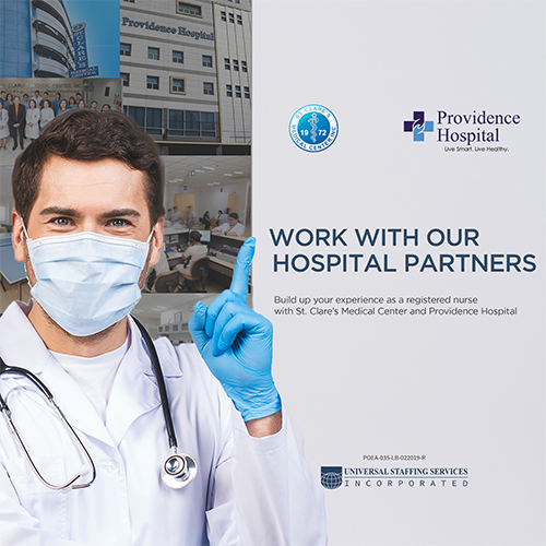 Our Hospital Partners | St. Clare's Medical Center and Providence Hospital