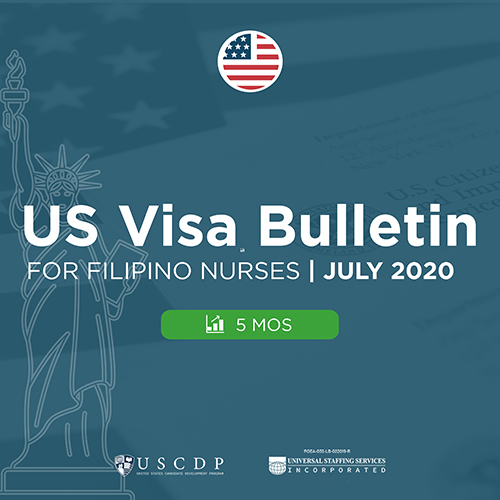Monthly US Visa Bulletin For PH Nurses | July 2020