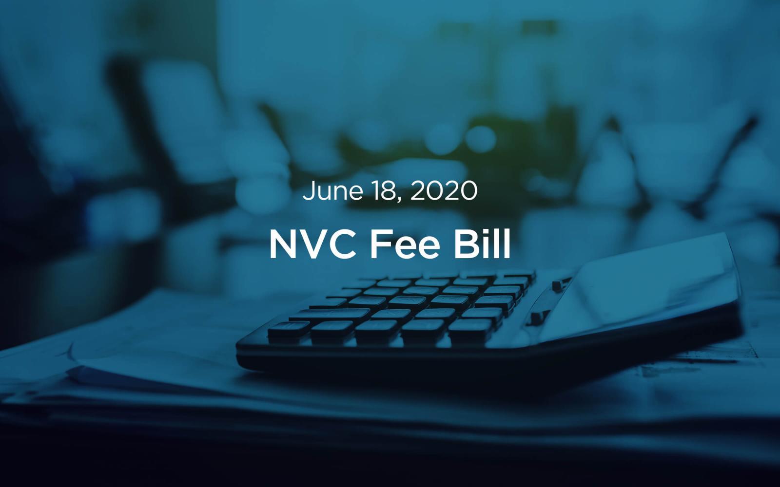 NVC fee bill