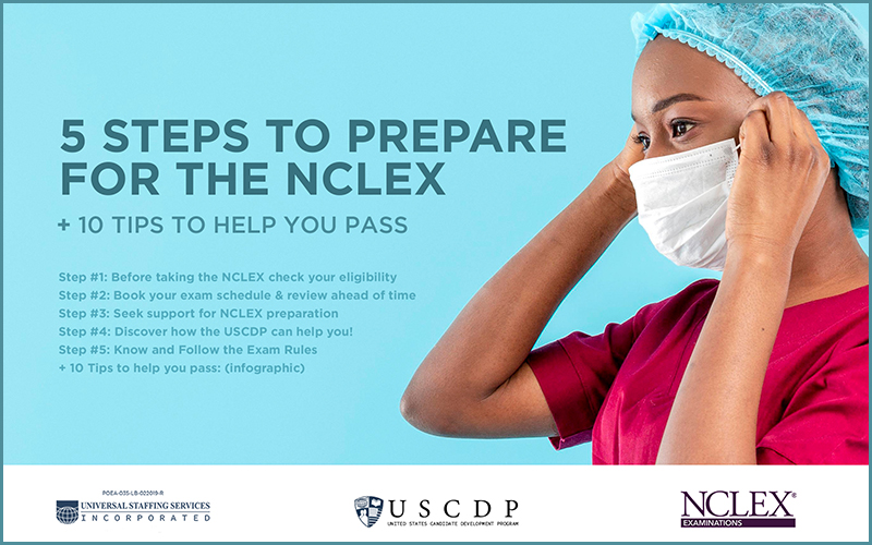 5 steps to prepare for NCLEX