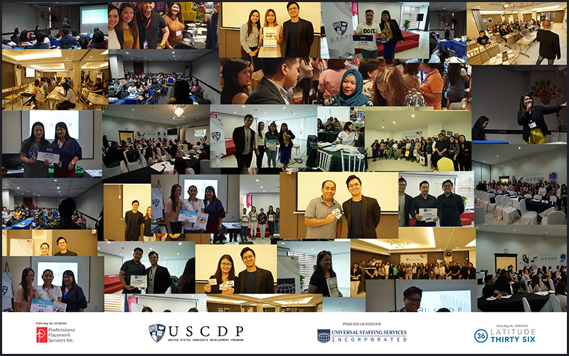 USCDP Orientation Photo collage