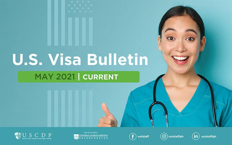 US Visa Bulletin May 2021 article header