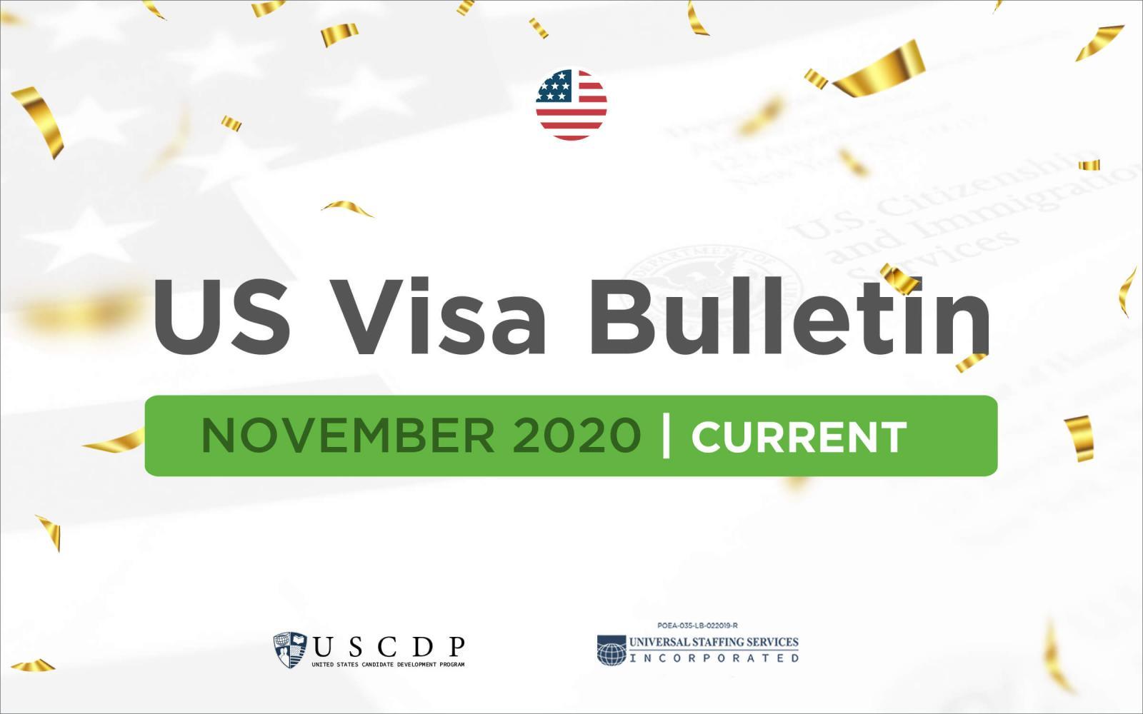Monthly US Visa - November