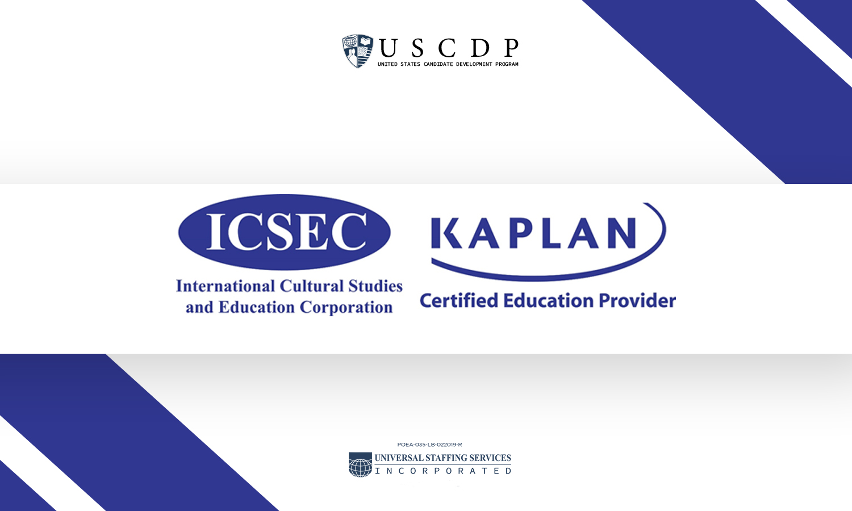ICSEC Kaplan logo