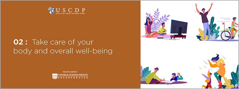 Take care of your body and overall well-being