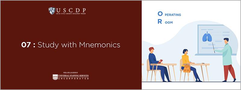 Study with mnemonics