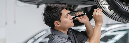 Tyre Bay Mechanic Car Qatar Woqod hiring