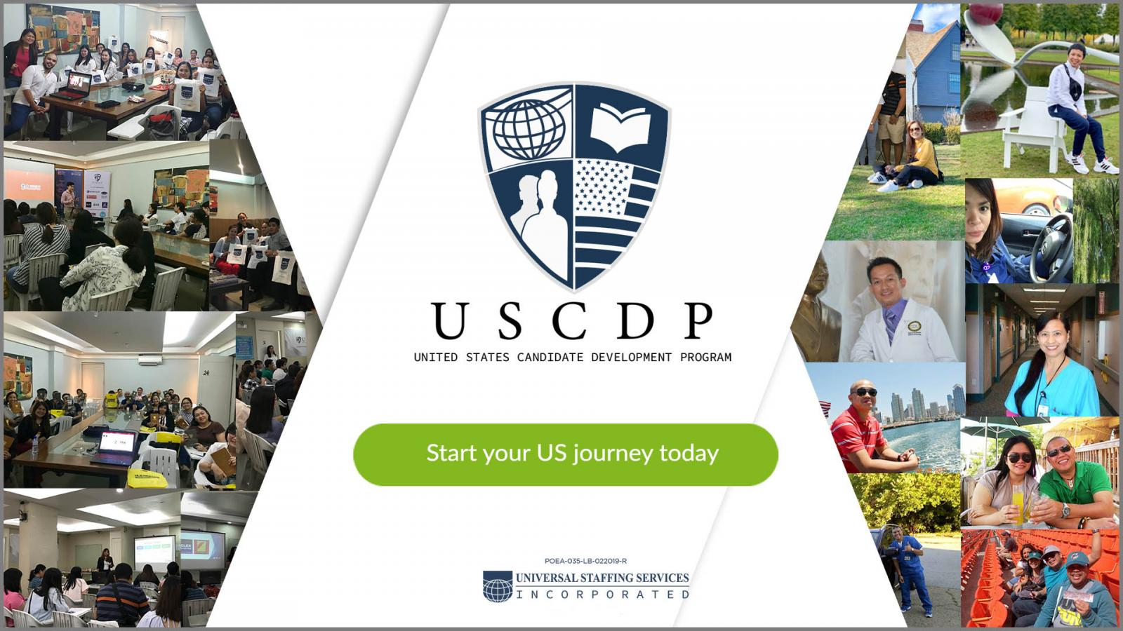 USCDP Start Your US Journey CTA