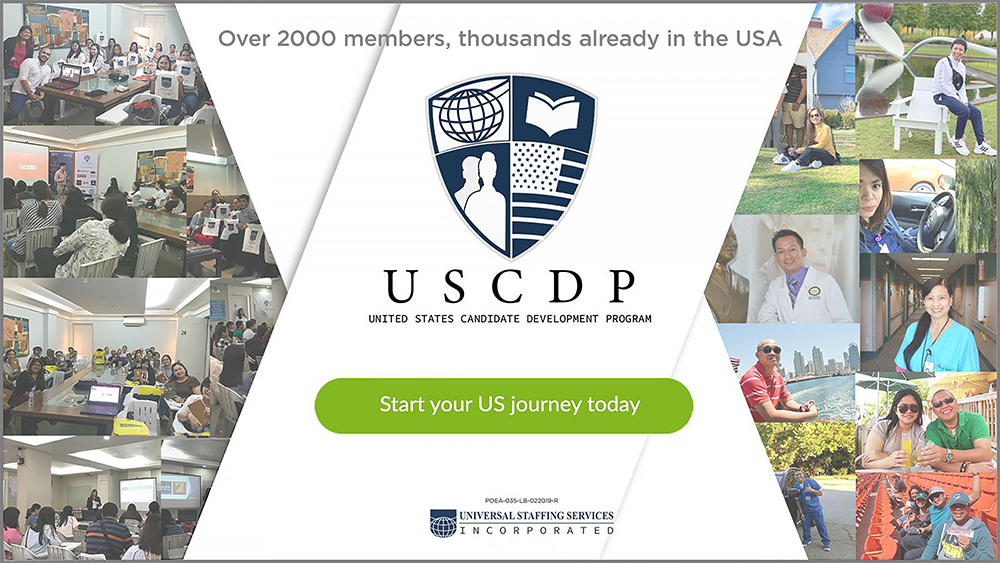 USCDP Start your US journey today CTA