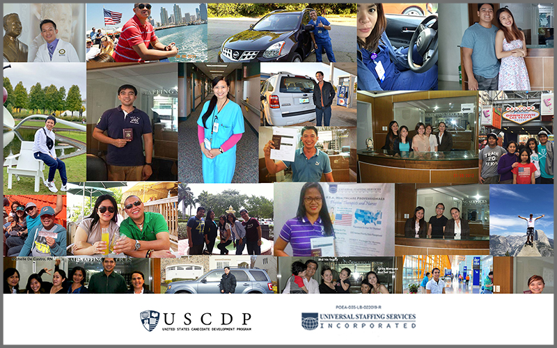 photo collage of USCDP
