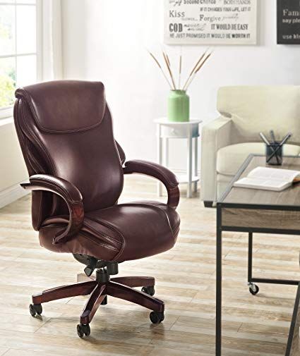 Lazboy Hyland Leather Executive Office Chair