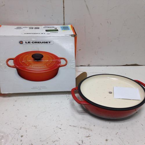 Le Cruset Cast Iron Casserole Pan  size 13''