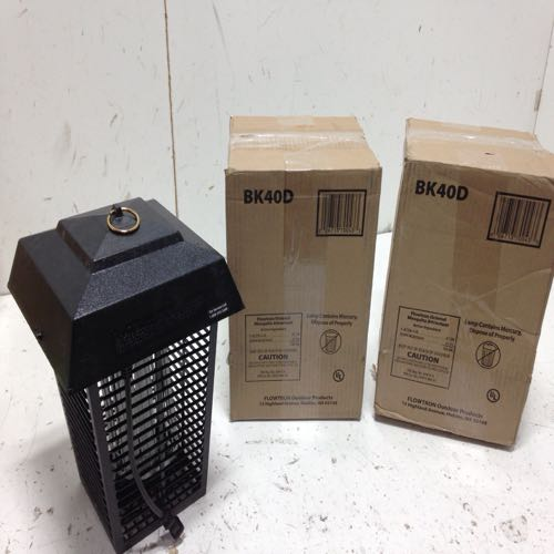 Lot of 2 Flowtron BK40D Electric Insect Killer