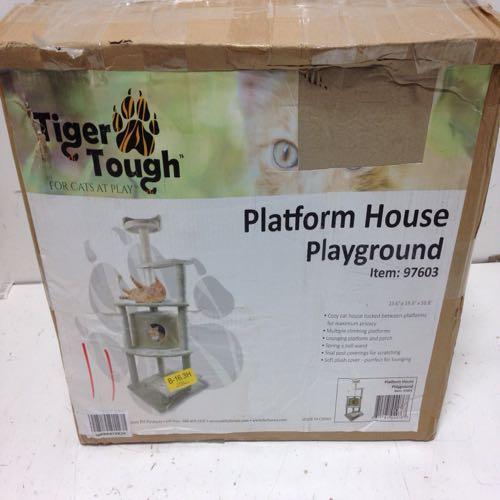 Tiger Tough 97603 Platform House Playground For Cats
