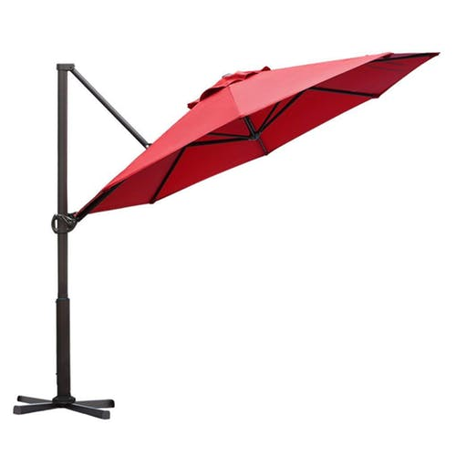 Abba Patio  APNRC330DR Offset Cantilever Umbrella