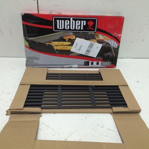 Weber  7638 Cooking Grates For Spirit 300 Series Grills Black