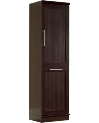 Tresanti ec9740us22-o107 lot of 2 dakota universal upper storage top size 122.8lbs each  premium oak