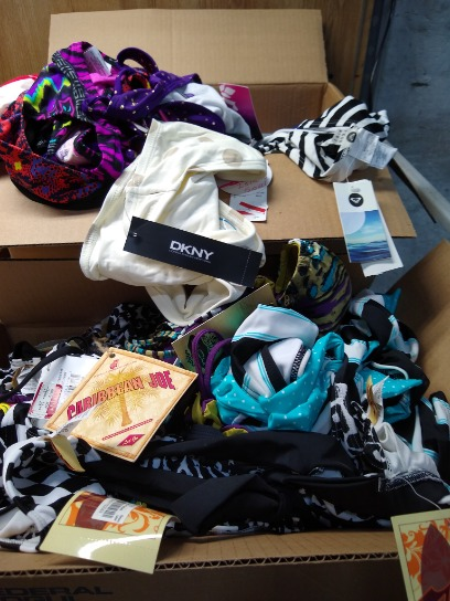Swimsuit Lot 150 + Units Dkny  Roxy Hobby Raisin Island Soul And Much More Retails For 10,000
