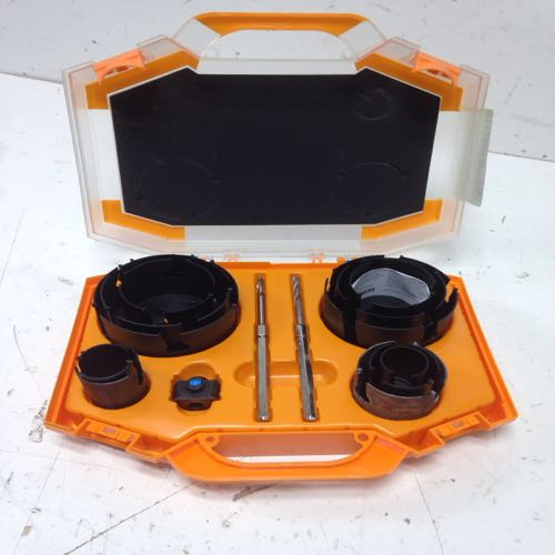 Spyder 600880 Carbide Tipped Hole Saw Kit