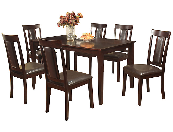 HHDS-059SET7 Dining Table And 6 Chair Set