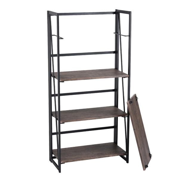 Furniture R 6670 4 Shelf Bookcase