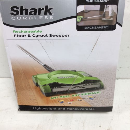 Shark V2930 Cordless Rechargeable Floor And Carpet Sweeper