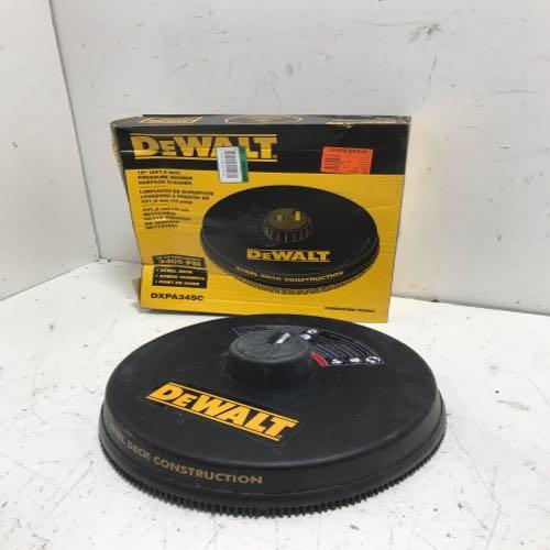 Dewalt  Pressure Washer Surface Cleaner Head size 18inch Black