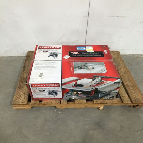 Craftsman 137.218073 Table Saw With Legs Set Size 10 In