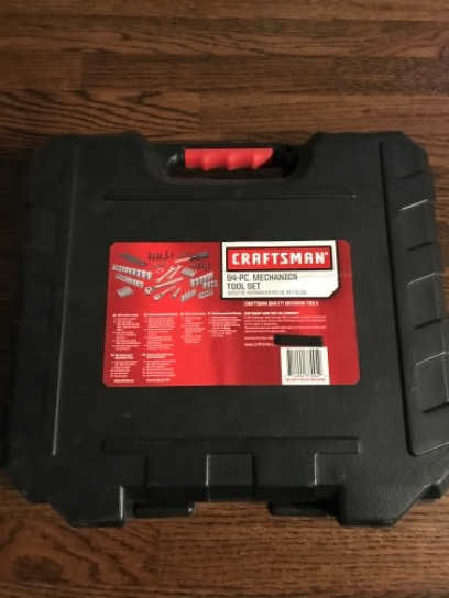 Craftsman 94pc Mechanics Tool Set