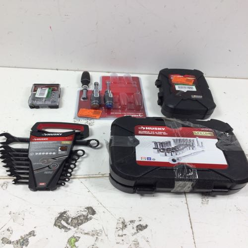 Mixed Lot of Husky Mini Driver, Screw Driver, Wrench, And Tool Sets