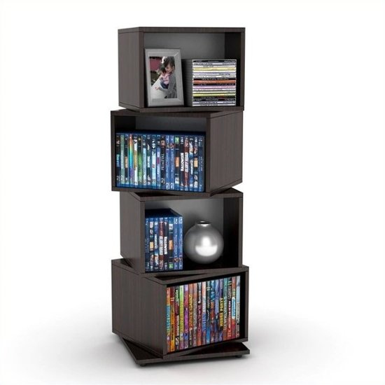 Swivel Multimedia Storage Tower