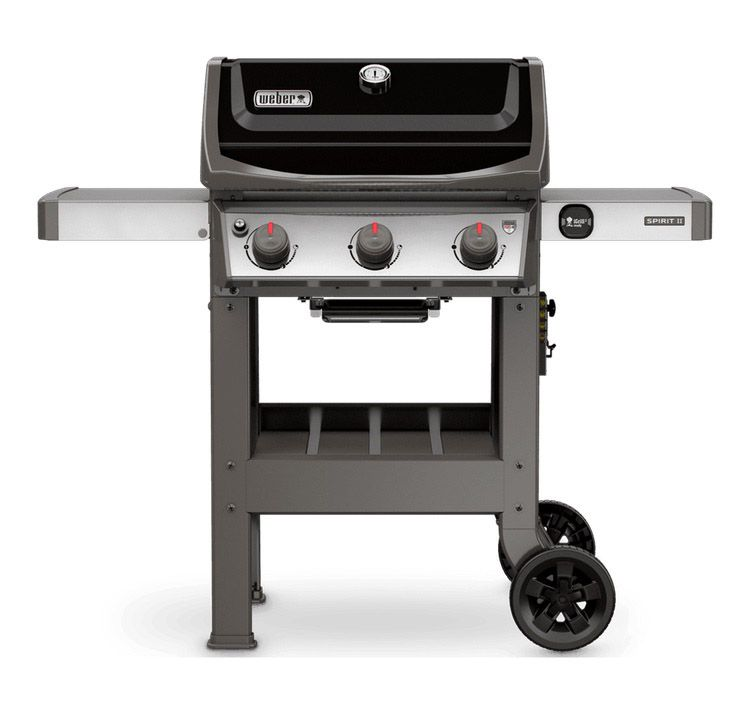 Weber  45010001 Spirit Ii Gas Barbecue Grill  Size 114lbs Black