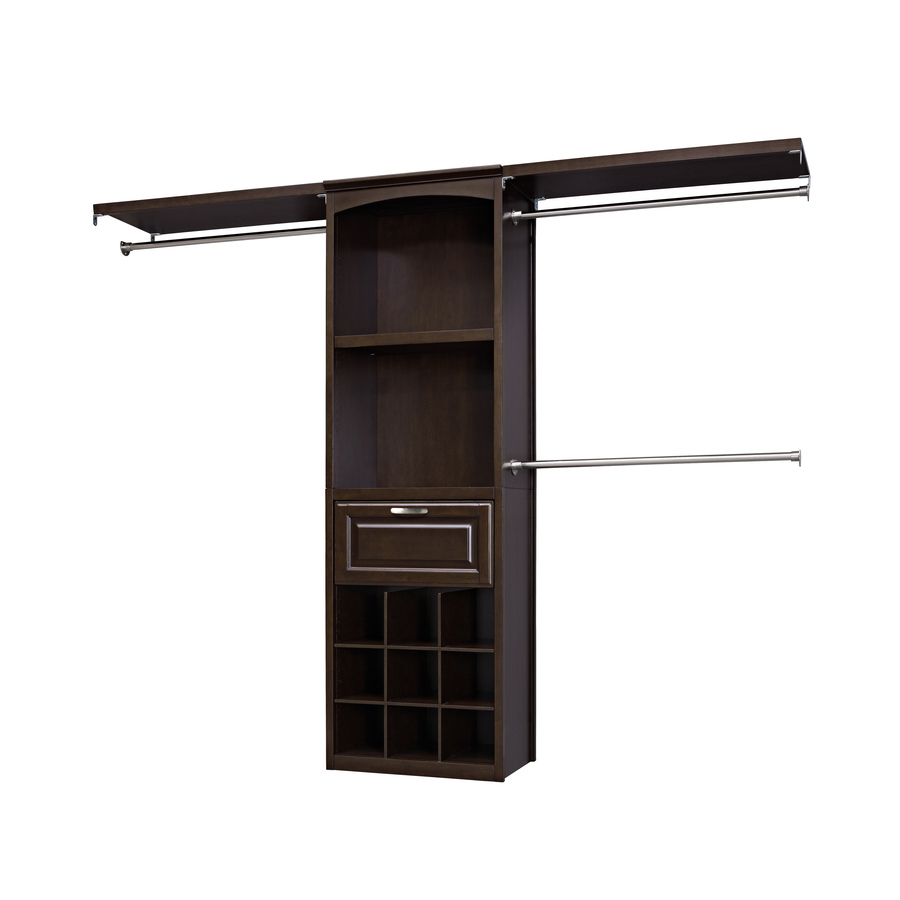 Allen + Roth 0339203 Complete Closet Kit  Java