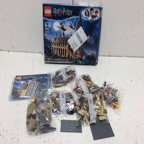 Lego 75954 Harry Potter Hogwart's Great Hall Building Set