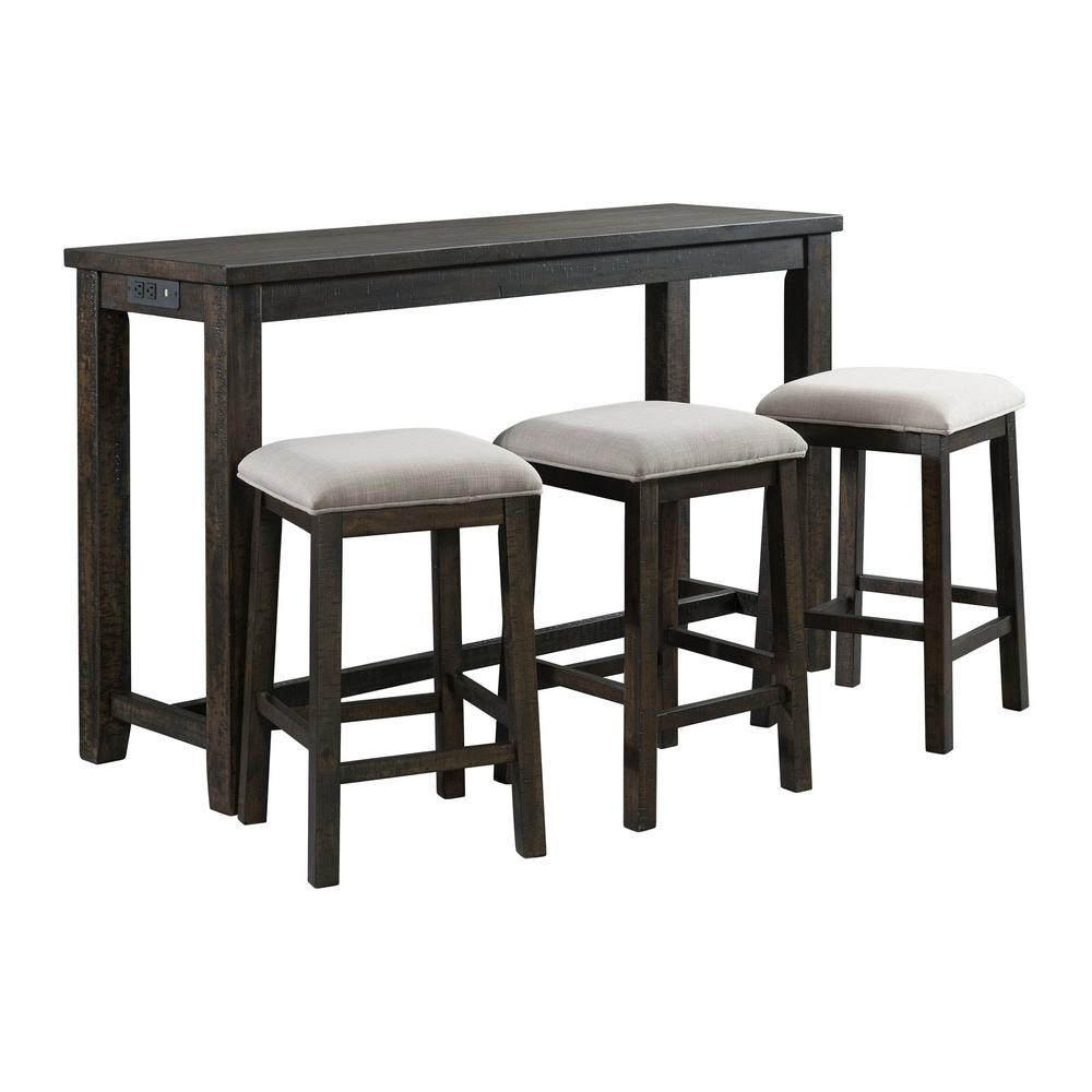 Picket House Furnishings  TST100BTSPE Bar Table And Stool Set